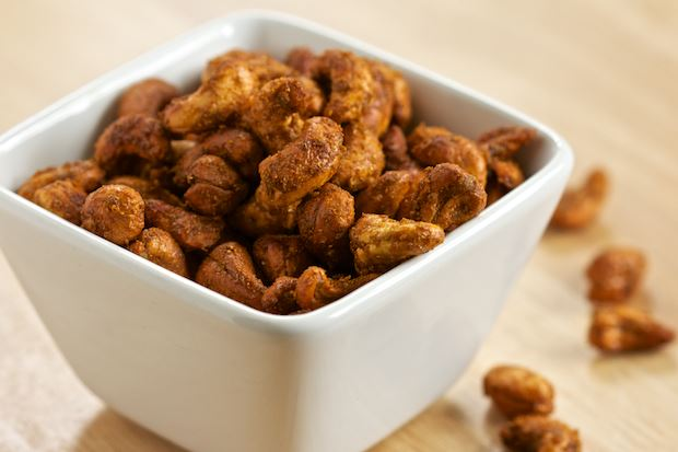 Curried cashews from GI 365