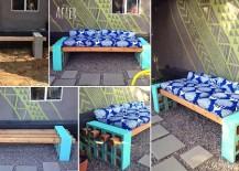 DIY Cinderblock Seating