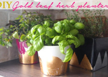 DIY-Gold-Leaf-Planter-217x155
