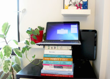 DIY Standing Desk Stacked B 217x155 8 Inexpensive DIY Standing Desks You Can Make Yourself