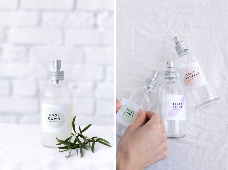 DIY face mists from Design Love Fest