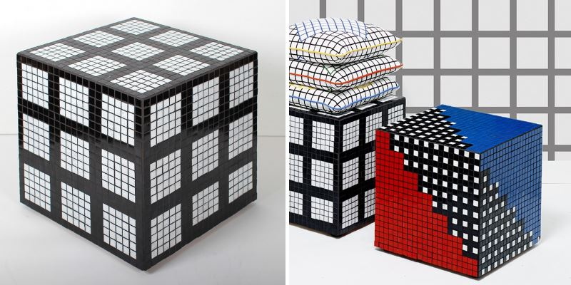 Darkrooms Tiler Grid Table When Still Life Photography Meets Modern Design