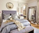 Eclectic bedroom that oozes luxury [Design: Tara Dudley Interiors]