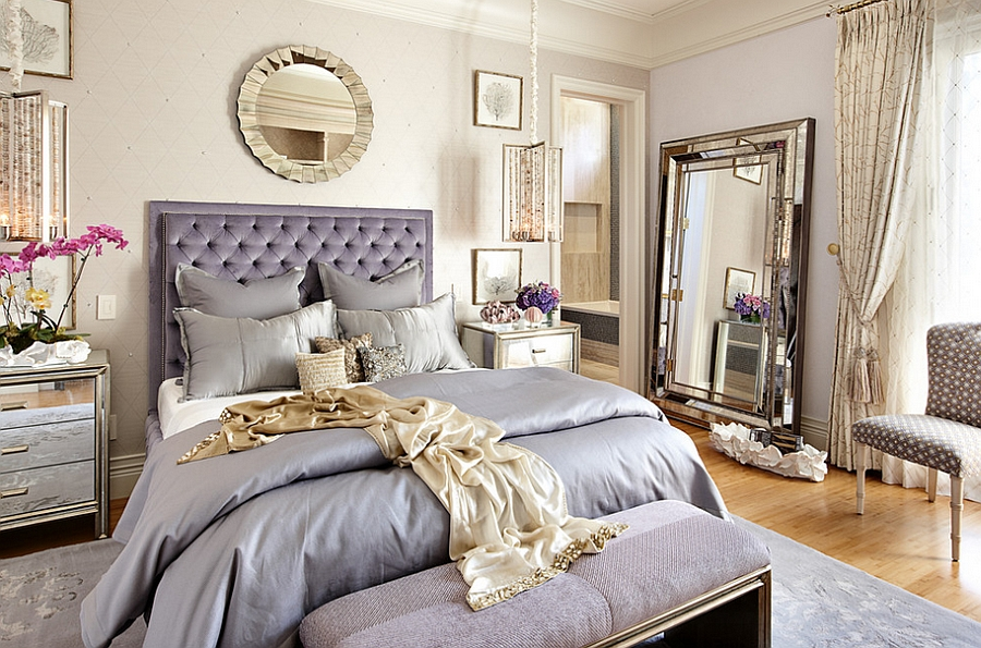 Genial ... Eclectic Bedroom That Oozes Luxury [Design: Tara Dudley Interiors]