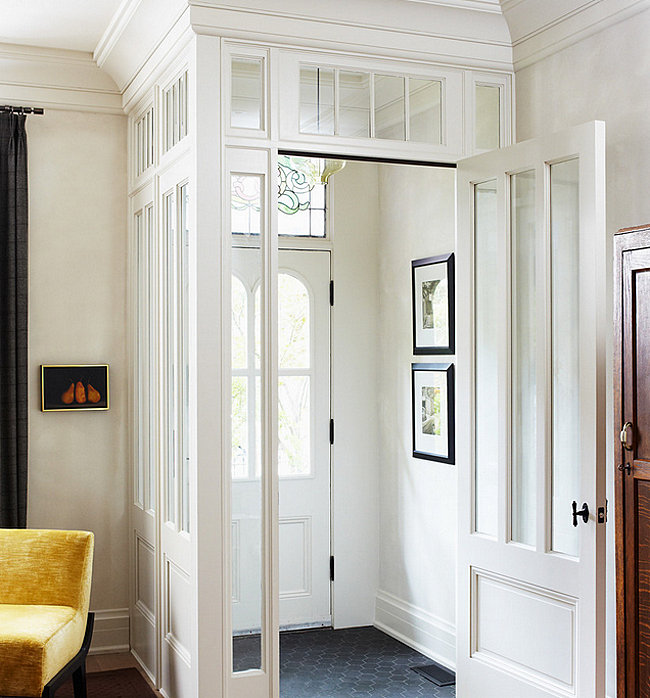 Foyer Hallway Questions : Small entryway designs with larger than life appeal