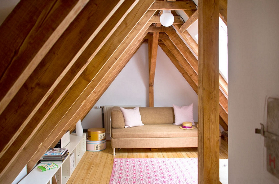 Even the tiniest of attics can be put to good use