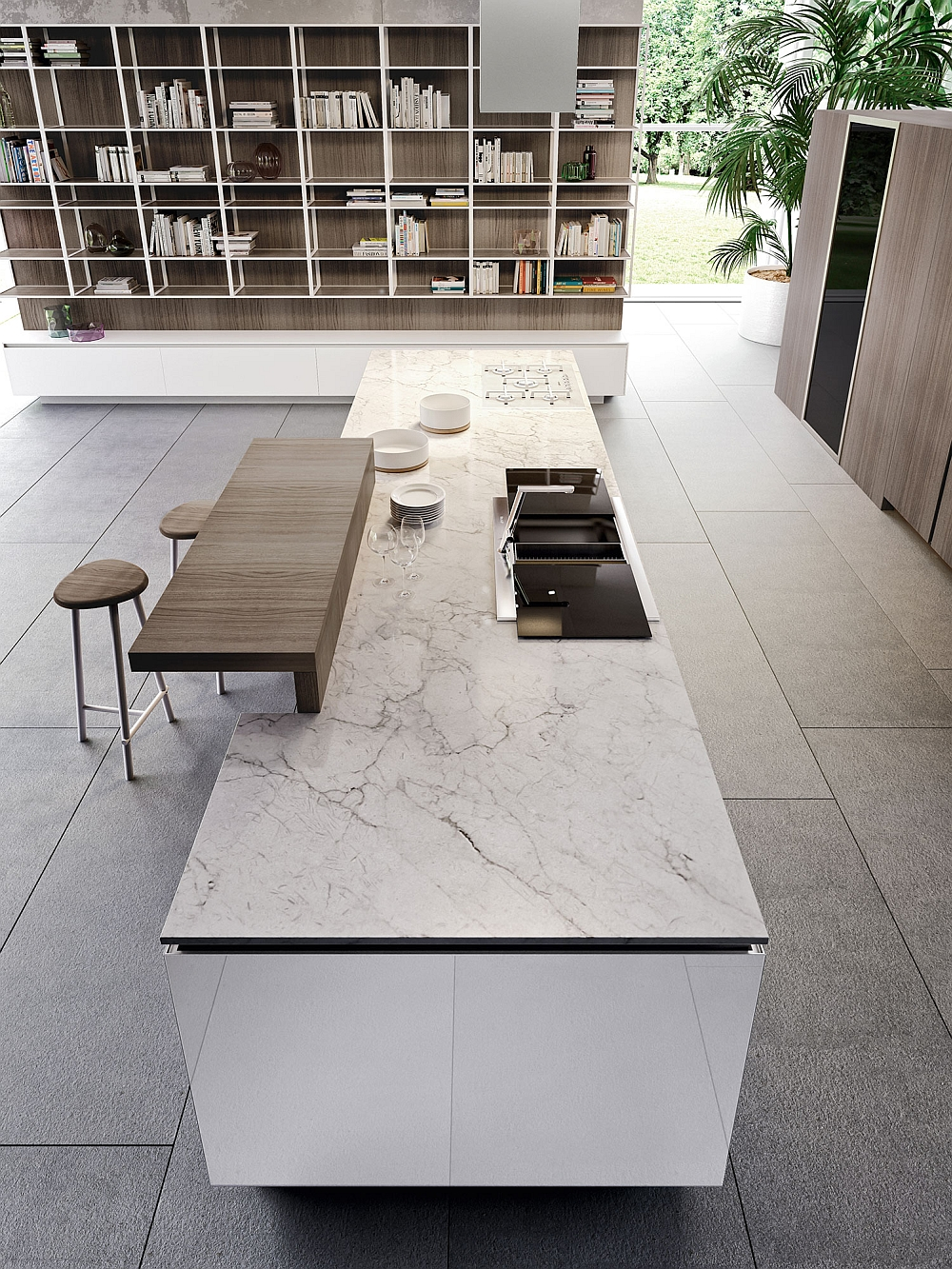 Fabulous Italian kitchen with state-of-the-art design
