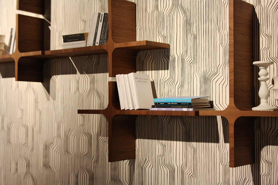 Fabulous Milo bookshelf saves up precious foot space!