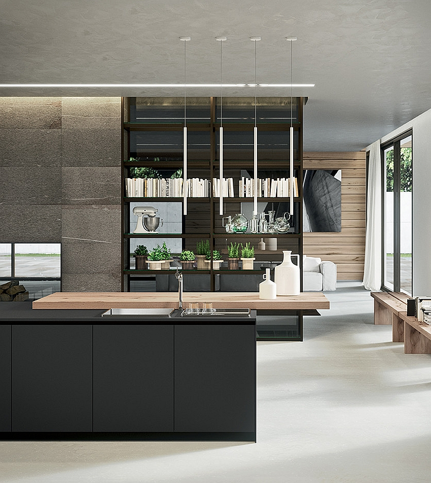 Sophisticated contemporary kitchens with cutting edge design for Modern kitchen