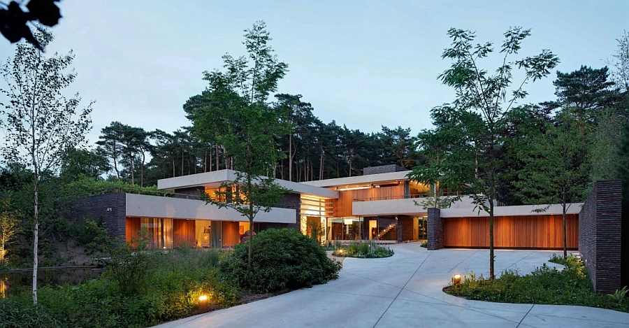Fabulous villa in Netherlands surrounded by forest