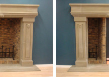 Fireplace with Concealed Pa