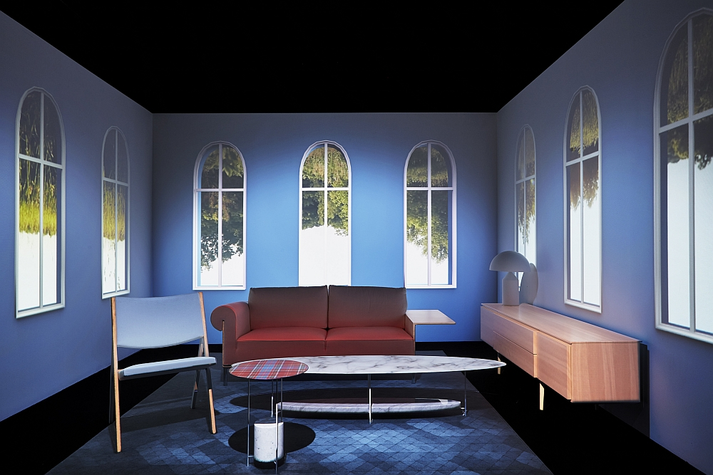 Francesca Molteni and Ron Gilad come together for this theater of furniture