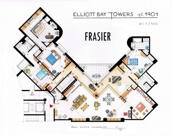 Frasier-Apartment-Floorplan