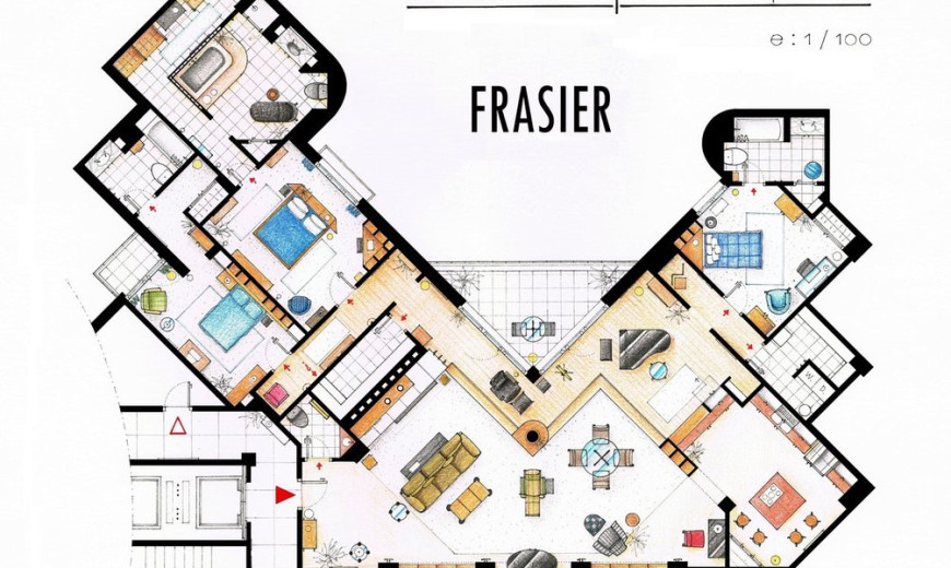 9 Famous Floorplans from Your Favorite TV Shows