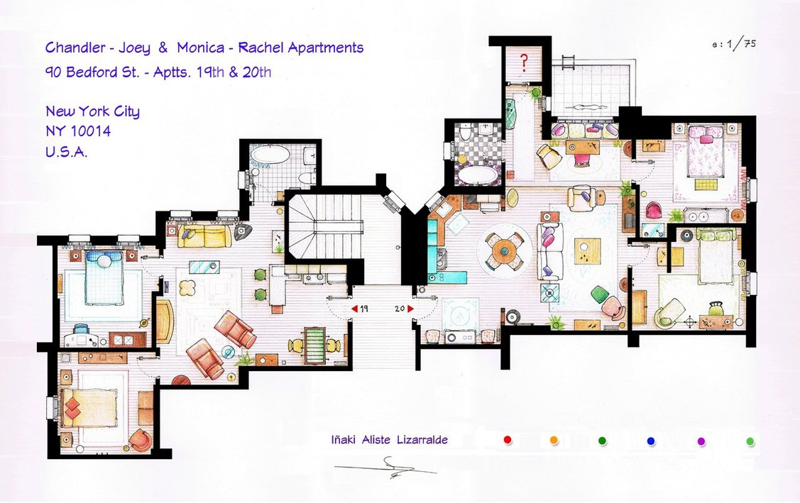 Friends-Apartment-Floorplan