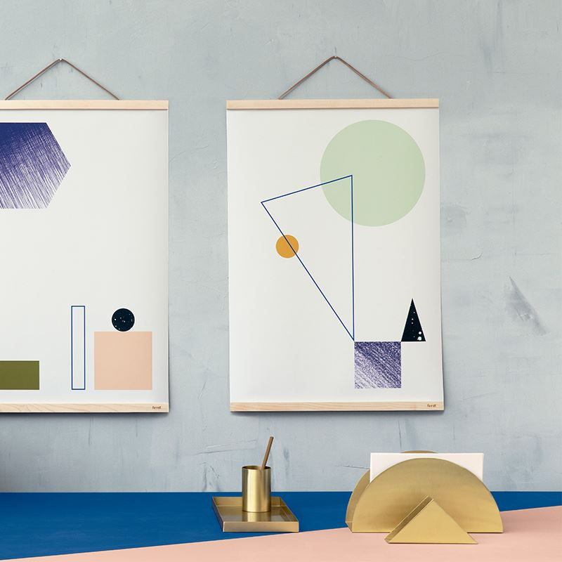 Geo vignette from Ferm Living