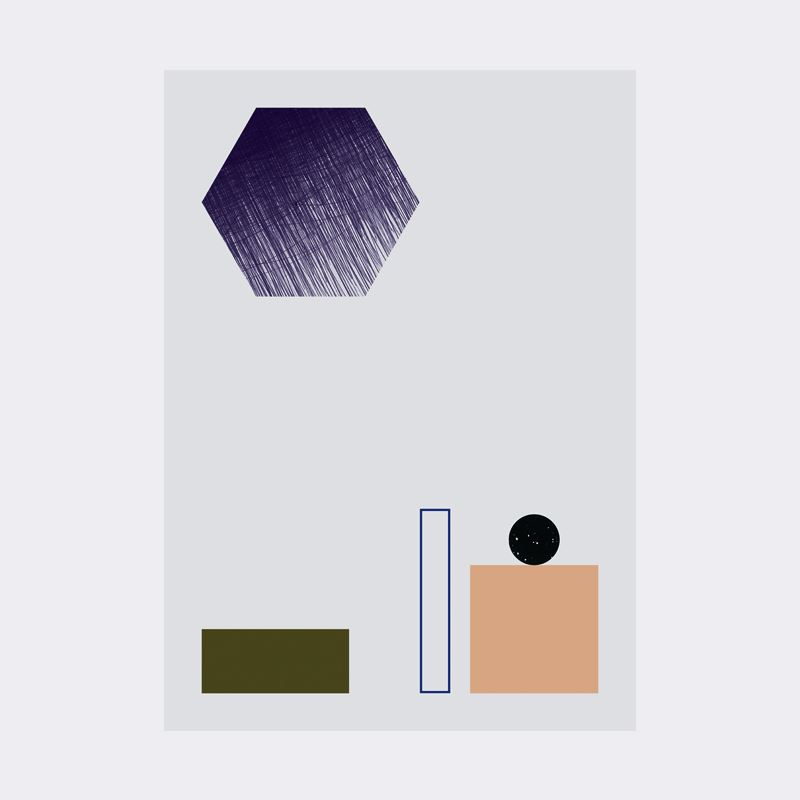 Geometry Poster 2 from Ferm Living