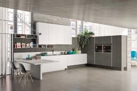 Posh Kitchen Compositions Fuse Modularity with Minimal Aesthetics