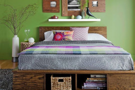Creative Platform Storage Bed Ideas - Diy storage bed ideas