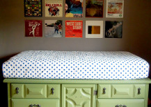 Nora Of Oh Yes S Diy Storage Bed Is So Impressive That It Nearly Impossible To Believe She Made Herself The Elevated Platform And Stairs Separate