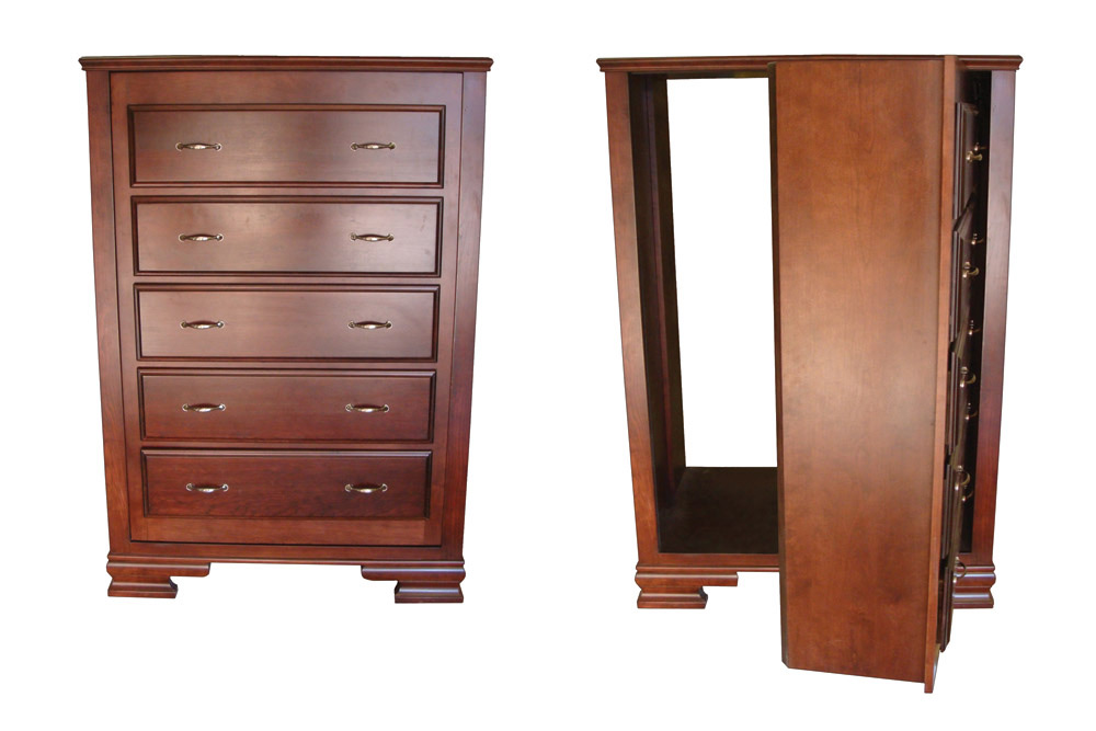 Hidden Compartment Dresser