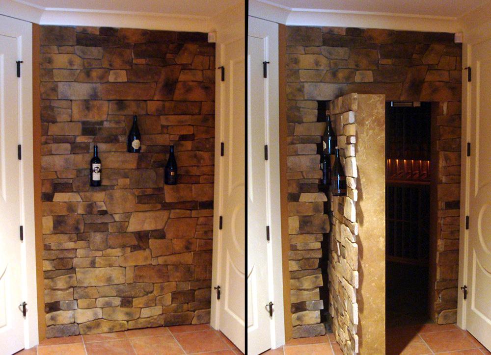 Hidden Door in Stone