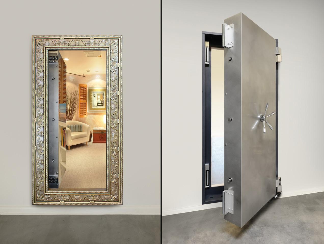 Hidden Doorway Mirror