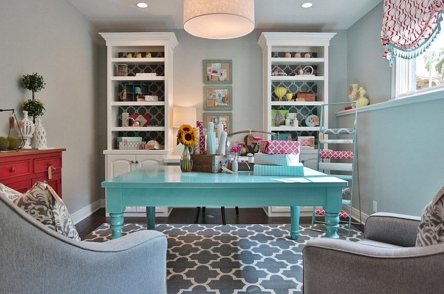 View In Gallery Home Offices Are Not Just For Those With Laptops! [Design:  Set The Stage