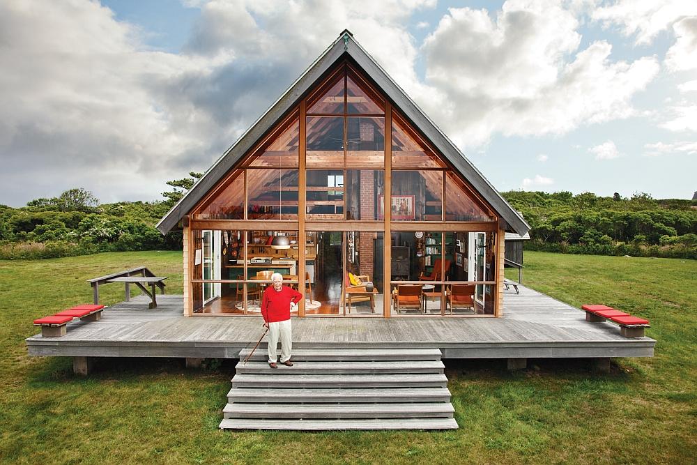 Jens Risom and his amazing Block Island retreat