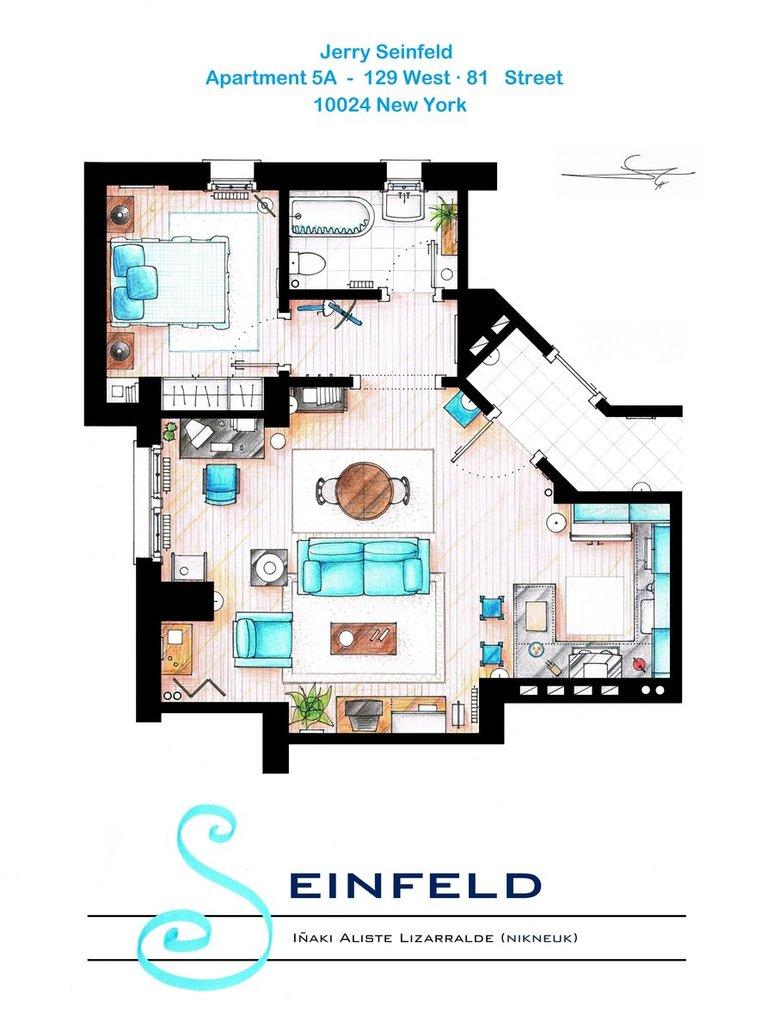 Jerry-Seinfeld-Apartment-Fl