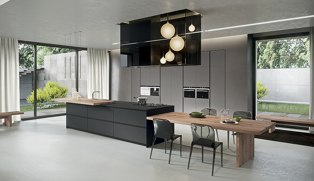 Sophisticated Contemporary Kitchens With Cutting Edge Design