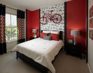 Let your love for bikes shine through [Design: Meritage Homes]