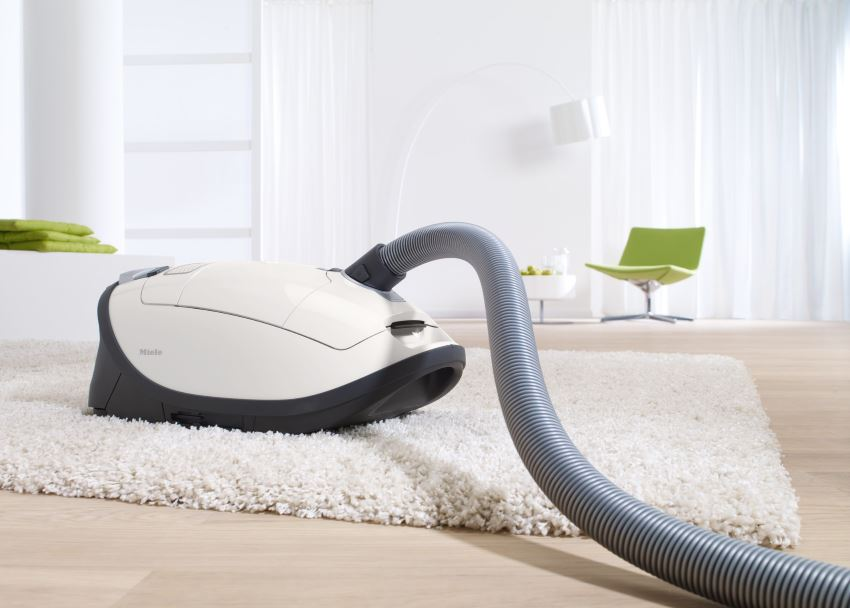 Miele vacuum cleaner with Timestrip technology