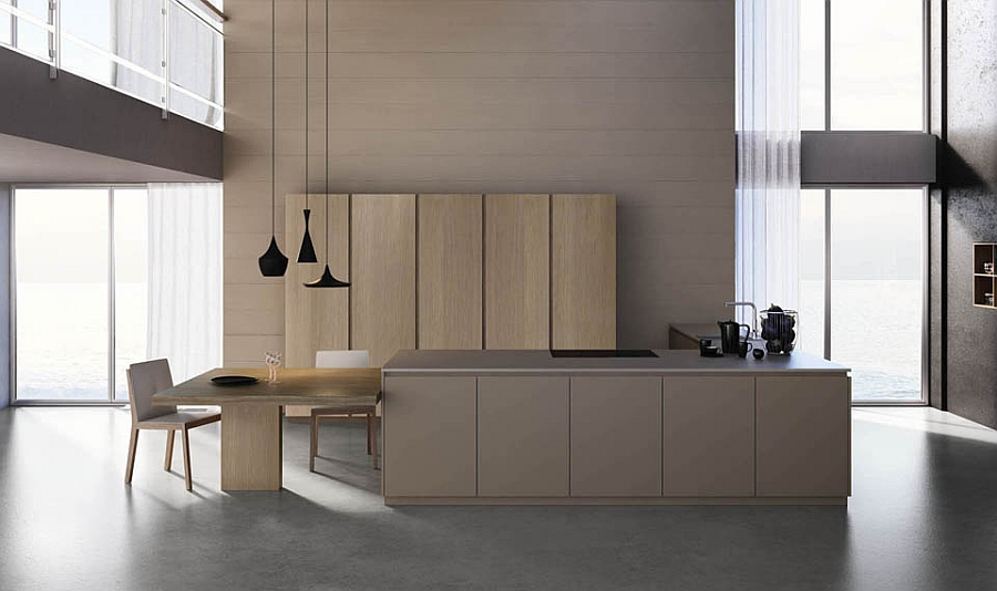 Fabulous italian kitchens unravel space savvy design solutions for Elegant modern kitchen designs