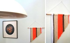 Modern DIY wall hanging