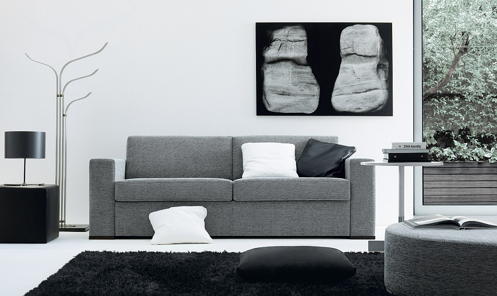 Modular Gordon sofa that can also double as a cozy bed