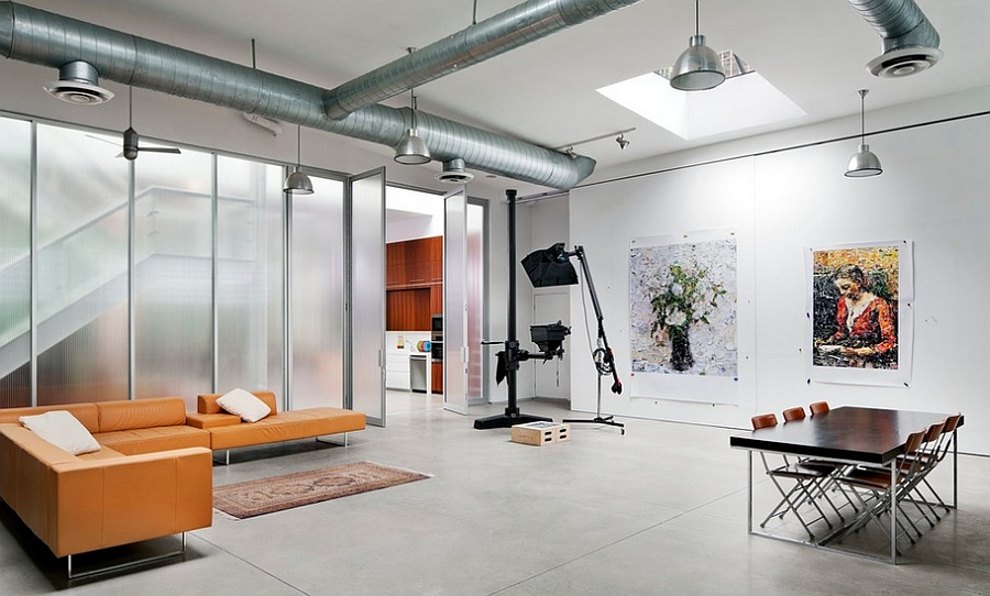 office industrial design. modren industrial natural light adds to the aura of home studio design bwarchitects and office industrial design n