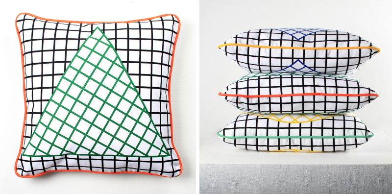 Off the Grid Cushions via Darkroom
