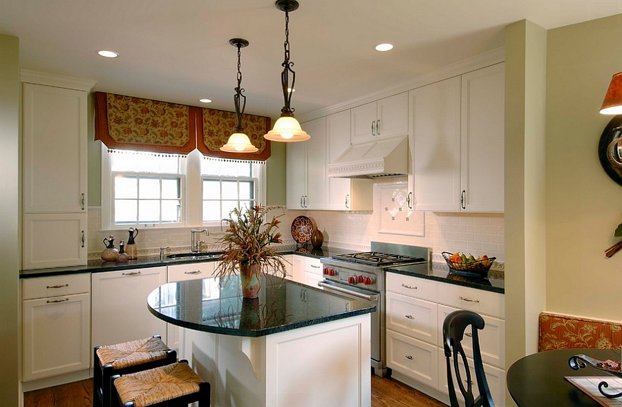 Images Of Small Kitchens Islands In Middle Of Kitchen