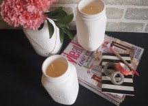 DIY Painted Mason Jars with Multiple Uses!