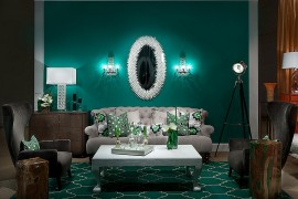 25 Living Rooms that Unleash the Refreshing Charm of Green