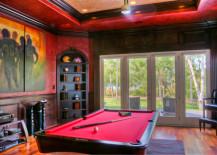 Secret Door in Pool Room 217x155 8 Tricky Hidden Passageways to Add Intrigue to Your Home