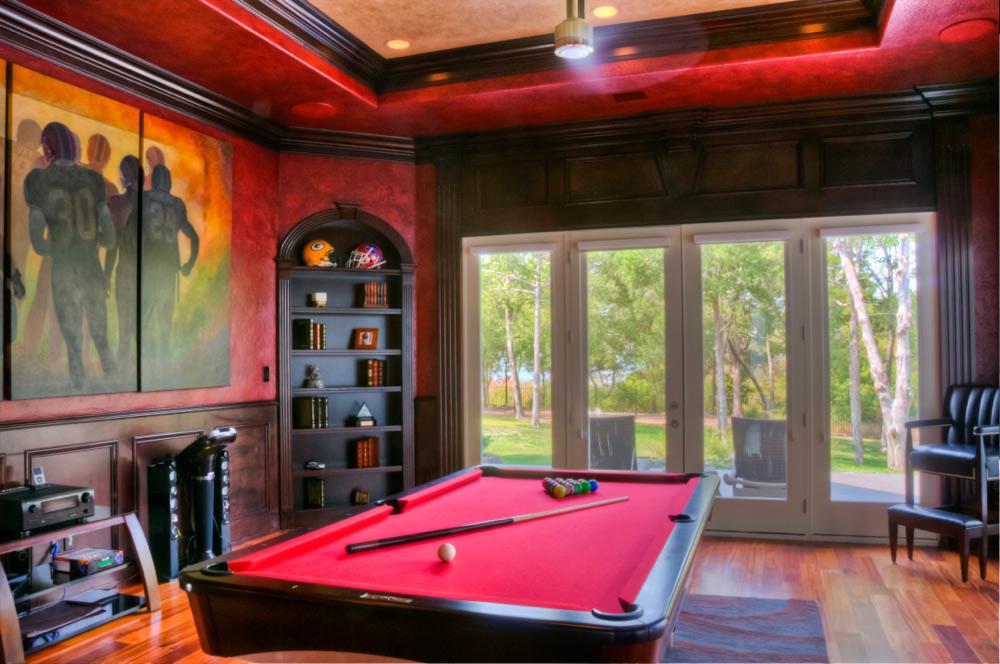 Secret Door in Pool Room