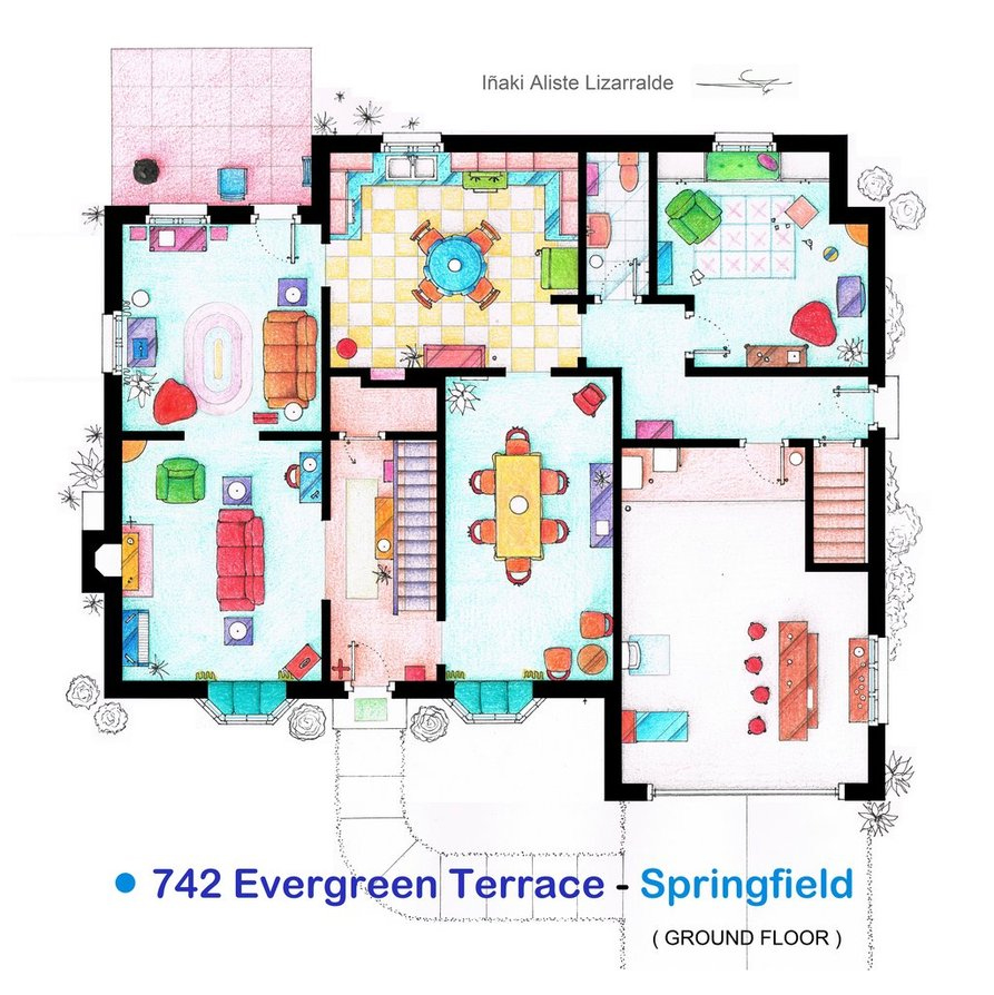 Simpsons-Family-Home-Floorp