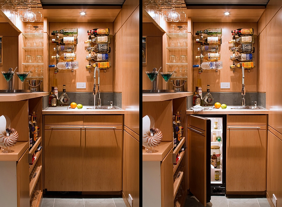 27 basement bars that bring home the good times for How to build a mini bar at home