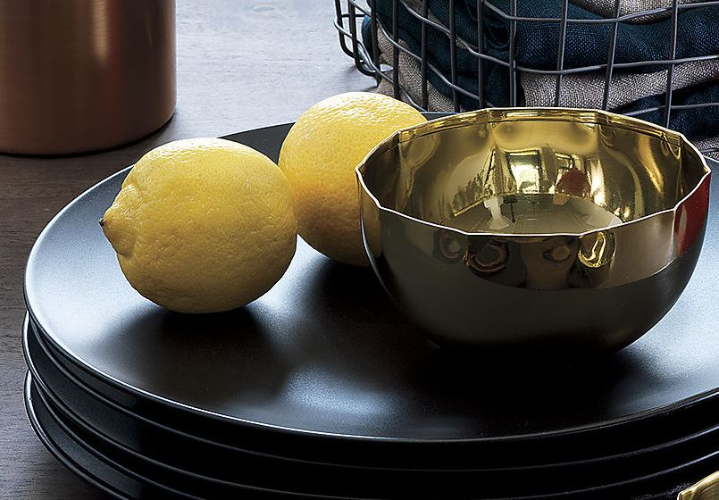 Small brass pinch bowl from CB2