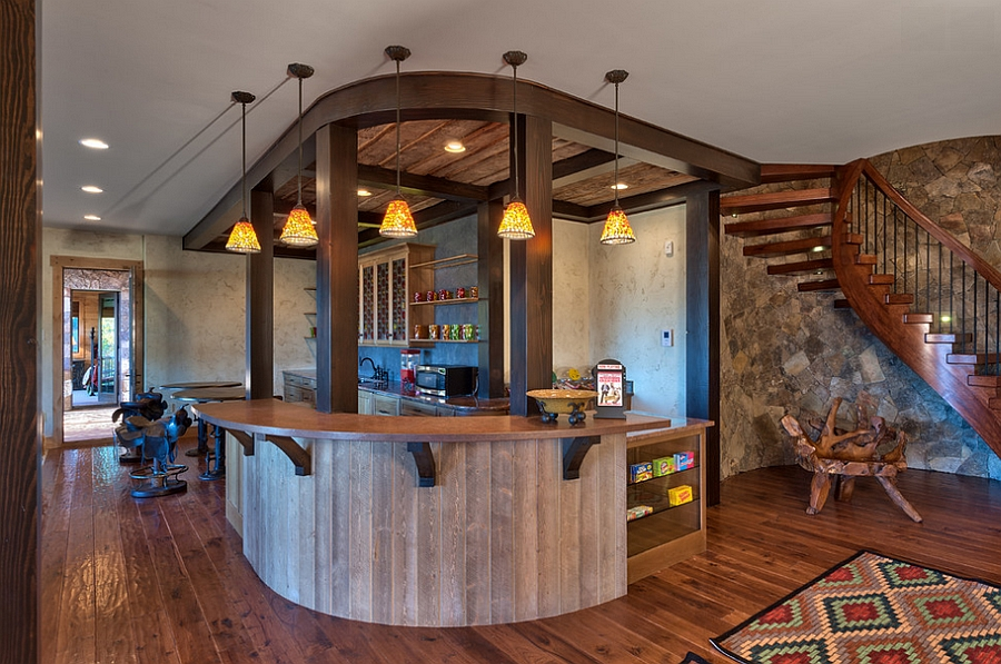 27 basement bars that bring home the good times for Home bar designs and ideas