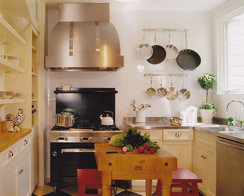 Kitchens Without Islands 24 tiny island ideas for the smart modern kitchen
