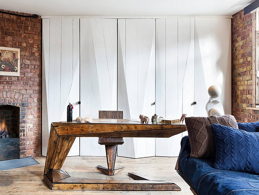 Smart use of space in the small London apartment