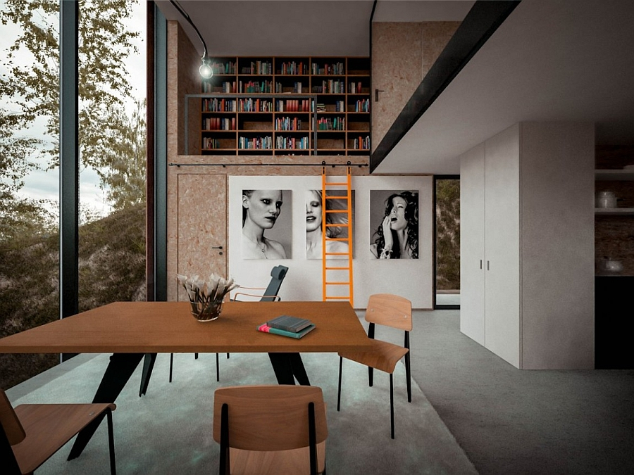Dramatic Minimalist Home Transforms An Abandoned Quarry In